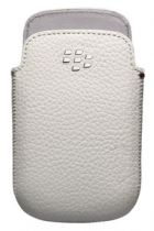 buy Blackberry Cases - Leather Case Blackberry ACC-48097-202  9220/9310/9320 White