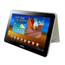 Comprar Accesorios Galaxy Tab /Tab2 10.1 - Samsung EFC-1B1NECSTD Typing Book Cover Marfil Galaxy Tab 10