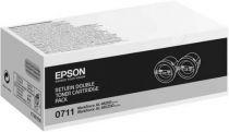 achat Toner imprimante Epson - EPSON PACK DUPLO C/RETORNO AL-M200