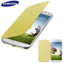 Comprar Accesorios Galaxy S4 i9500 - Flip Case Samsung Galaxy S4 Yellow EF-FI950BYEGWW