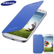 achat Accéssoires Galaxy S4 i9500 - Étui Flip Samsung Galaxy S4 Bleu EF-FI950BCEGWW EF-FI950BCEGWW