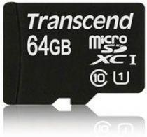 Comprar Tarjeta Micro SD / TransFlash - Transcend MicroSDXC Card 64GB Class 10 UHS-I TS64GUSDU1