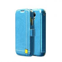 achat Accéssoires Galaxy S4 i9500 - Étui Zenus ZCG4COBL Masstige Color Point Diary  Galaxy S4 blue