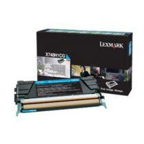 achat Toner imprimante Lexmark - LEXMARK TONER CORPORATE Cyan High 10k X748H3CG