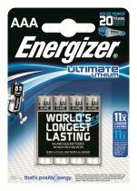 Comprar Pila - Pilas 1x4 Energizer Lithium Digital Micro AAA 639171