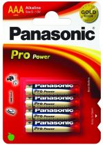 Comprar Pila - Pilas 1x4 Panasonic Pro Power LR03 Micro AAA
