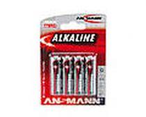achat Pile - Pile 1x4 Ansmann Alkaline Mignon AA red-line 5015563