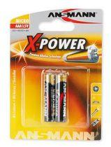 Comprar Pila - Pilas 1x2 Ansmann Alkaline Micro AAA X-Power