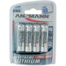 Comprar Pila - Pilas 1x4 Ansmann Extreme Lithium Mignon AA 1512-0002