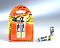 Comprar Pilas Recargables - Pila Recarg. 1x2 Ansmann maxE NiMH Mignon AA 2100 mAh 5030992