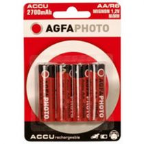 buy Rechargeable battery - Recharg. battery 1x4 AgfaPhoto NiMh Mignon AA 2300 mAh