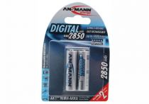 Buy Rechargeable battery - Recharg. battery 1x2 Ansmann NiMH 2850 Mignon AA 2650 mAh DI