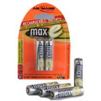 achat Pile Accumulateur - Pile Accumulat. 1x4 Ansmann maxE NiMH Mignon AA 2100 mAh 5035052