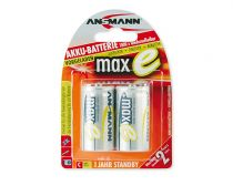 buy Rechargeable battery - Recharg. battery 1x2 Ansmann maxE NiMH Baby C 4500 mAh