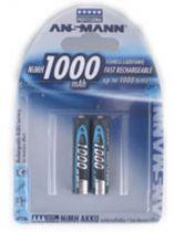 Comprar Pilas Recargables - Pila Recarg. 1x2 Ansmann NiMH 1000 Micro AAA 950 mAh 5030892