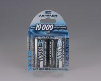 achat Pile Accumulateur - Pile Accumulat. 1x2 Ansmann NiMH 10000 Mono D 9300 mAh