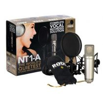 Micrófono Rode NT1-A Complete Vocal Recording Solution