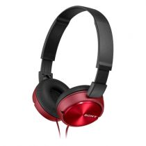 Comprar Cascos Sony - Cascos Sony MDR-ZX310R rojo Outdoor MDRZX310R.AE