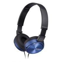 achat Casque Sony - Casque Sony MDR-ZX310APL Bleu Outdoor MDRZX310APL.CE7