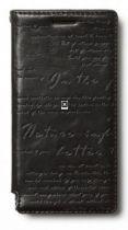 achat Acéssoires Autres Modèles Huawei  - Etui Cuir Zenus Lettering Diary Huawei Ascend P6 black