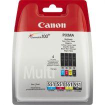 achat Encre imprimante Canon - CANON Encre Imprimante CLI-551 C/M/Y/BK MULTIPACK