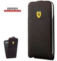 buy Accessories Galaxy S4 i9500 - Ferrari New Challenge Series Flip-Case Galaxy S4 black