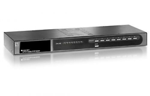 LEVEL ONE KVM 8 PORT USB/PS2 COMBO WITH EXTEN