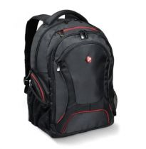buy Laptop Backpack - Port Designs Backpack Courchevel Black/Vermelho - 14/15.6´´