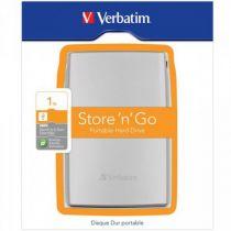 Comprar Discos Duros Externos - Verbatim Store n Go Portable 1000GB USB 3.0 plata (53071) 53071
