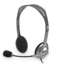 Cascos Logitech H110 Stereo Auriculares plata retail