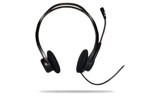 Cascos Logitech PC Auriculares 960 Negro