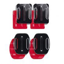 Comprar Soportes Videocámara Deporte - mantona adhesive mounting para GoPro