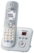 Comprar Teléfonos Inalámbricos DECT  - Telefono Panasonic KX-TG6821GS pearlsilver KX-TG6821GS