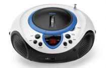 achat Radio CD Cassette - Radio CD Lenco SCD-38 USB blue