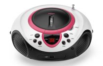 achat Radio CD Cassette - Radio CD Lenco SCD-38 USB pink