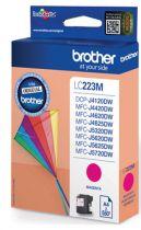 Comprar Cartucho de tinta Brother - BROTHER Cartucho Tinta LC223M MAGENTA LC223MBP