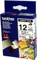 Comprar Consumibles POS - BROTHER FITA 12MM  TEXTIL Blanco/AZUL TZEFA3