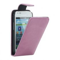 buy Samsung Cases - Flip Cover  Samsung Galaxy S Duos S7562 / S7560 / S7582 / S7580 Pink