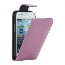 achat Etui Samsung - Etui Flip Samsung Galaxy S Duos S7562 / S7560 / S7582 / S7580 Rose
