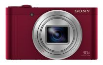 buy Sony Digital Cameras - Sony DSC-WX500 Red