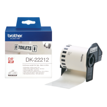 Comprar Papel - BROTHER ROLO PELICULA CONTINUO BRANCO 62MM