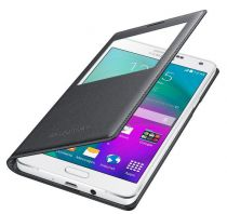 Comprar Accesorios Galaxy A7 - Samsung S-View Cover EF-CA700 Galaxy A7, Charcoal Black