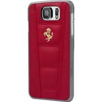 Comprar Accesorios Galaxy S6  - Ferrari Funda Roja Hard Galaxy S6 en Piel