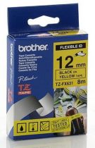 Comprar Consumibles POS - BROTHER FITA 8MM Amarillo/PRETO  FLEXIVEL TZEFX-631