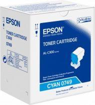 Comprar Toners Epson - Epson TONER AZUL AL-C300 8.800 PAG C13S050749