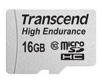 Comprar Tarjeta Micro SD / TransFlash - Transcend microSDHC 16GB Class 10 MLC High Endurance TS16GUSDHC10V