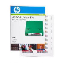 Comprar Backup - HP LTO-4 Ultrium RW Bar Code label pack