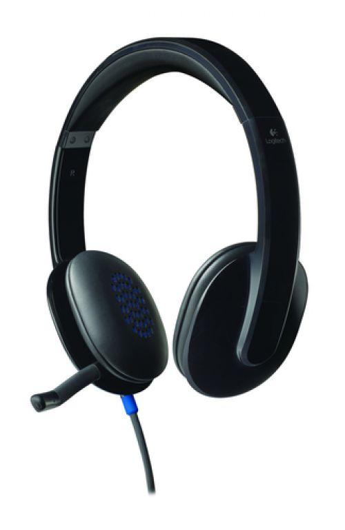 Cascos Logitech H540 USB Auriculares