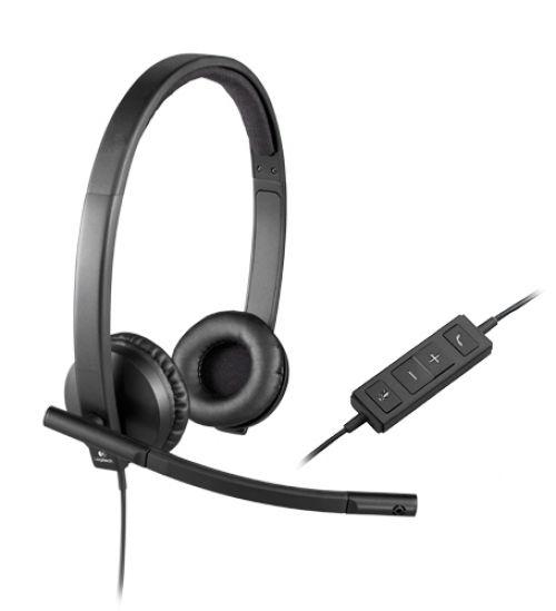 Cascos Logitech H570E USB Auriculares Stereo