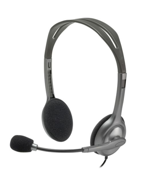 Cascos Logitech H111 Stereo Auriculares